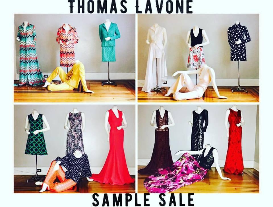 $ample $ale w/Designer Thomas Lavone